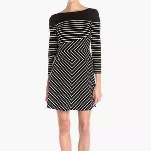 BCBGMAXAZRIA Koryn Striped Dress